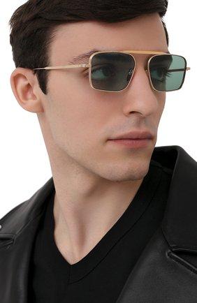 Мужские солнцезащитные очки JACQUES MARIE MAGE бирюзового цвета, арт. SCARPA JMMSC-54 | Фото 2
