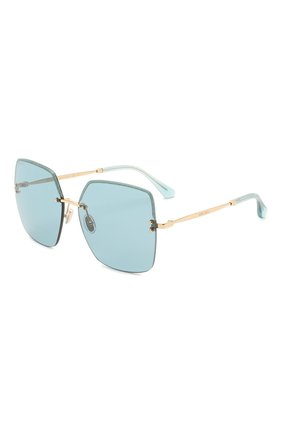 Женские солнцезащитные очки JIMMY CHOO голубого цвета, арт. TAVI YD2 | Фото 1
