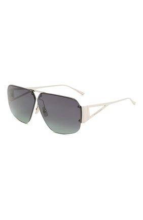 Женские солнцезащитные очки BOTTEGA VENETA черного цвета, арт. BV1065S 001 | Фото 1