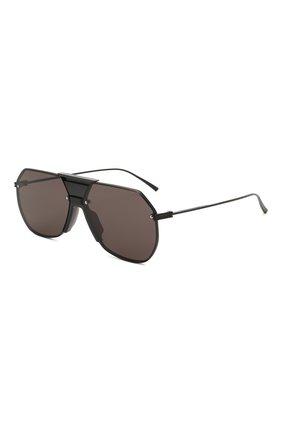 Женские солнцезащитные очки BOTTEGA VENETA черного цвета, арт. BV1068S 001 | Фото 1