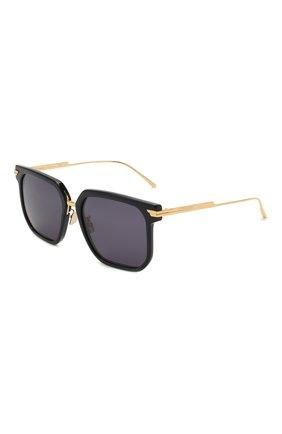 Женские солнцезащитные очки BOTTEGA VENETA черного цвета, арт. BV1083SA 003 | Фото 1