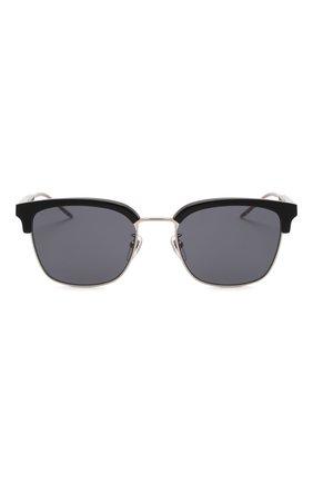 Мужские солнцезащитные очки GUCCI черного цвета, арт. GG0846SK 001 | Фото 3