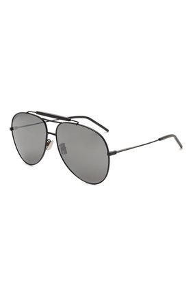 Женские солнцезащитные очки SAINT LAURENT черного цвета, арт. CLASSIC 11 0VER 003 | Фото 1