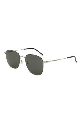 Женские солнцезащитные очки SAINT LAURENT черного цвета, арт. SL 388/K WIRE 001 | Фото 1