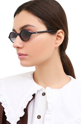 Женские солнцезащитные очки MATSUDA черного цвета, арт. M1026 DP | Фото 2