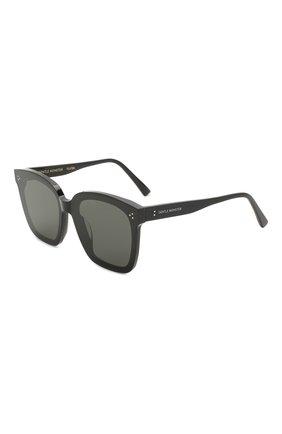 Женские солнцезащитные очки GENTLE MONSTER черного цвета, арт. DREAMER17 01 | Фото 1