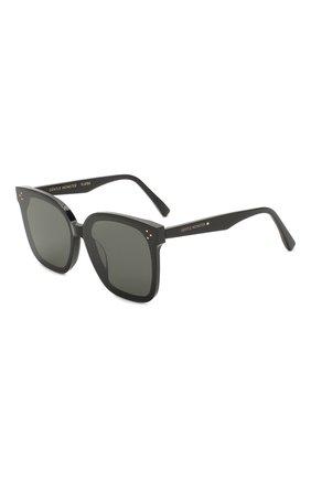 Женские солнцезащитные очки GENTLE MONSTER черного цвета, арт. HER 01 | Фото 1