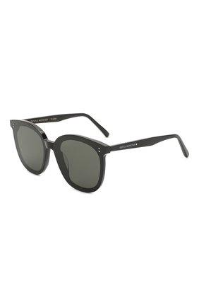 Женские солнцезащитные очки GENTLE MONSTER черного цвета, арт. MYMA 01 | Фото 1