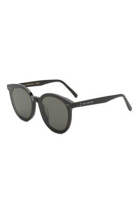 Женские солнцезащитные очки GENTLE MONSTER черного цвета, арт. S0L0 01 | Фото 1