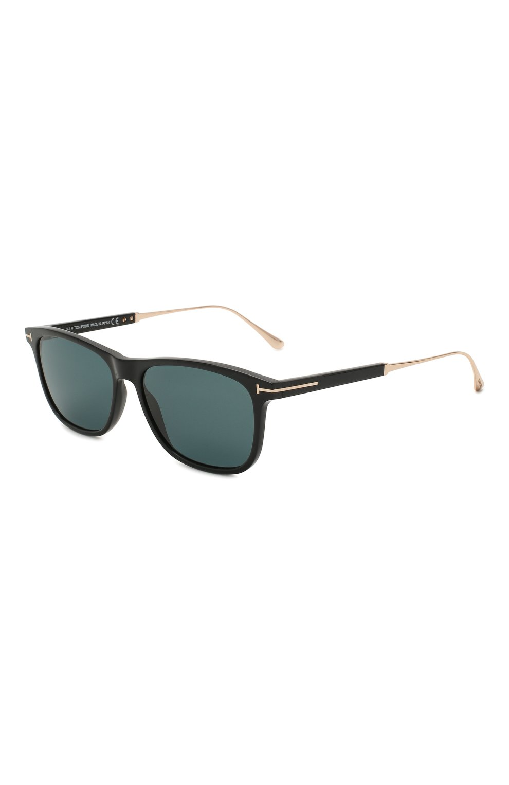 Мужские солнцезащитные очки TOM FORD синего цвета, арт. TF813 01V | Фото 1