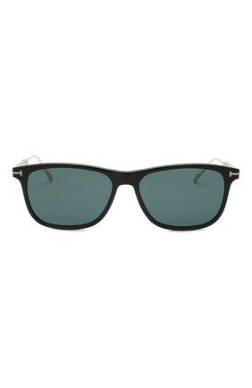 Мужские солнцезащитные очки TOM FORD синего цвета, арт. TF813 01V | Фото 3