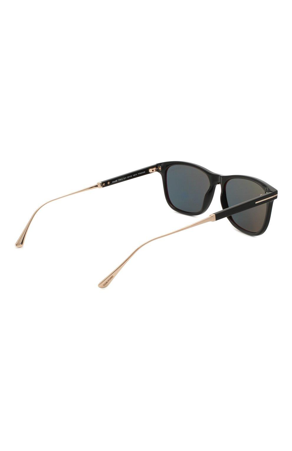 Мужские солнцезащитные очки TOM FORD синего цвета, арт. TF813 01V | Фото 4