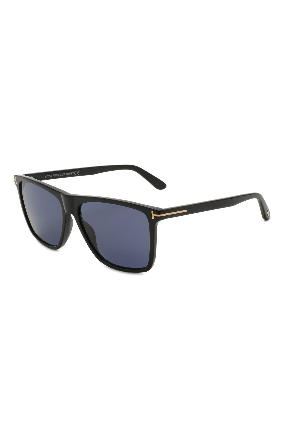 Мужские солнцезащитные очки TOM FORD черного цвета, арт. TF832 01V | Фото 1