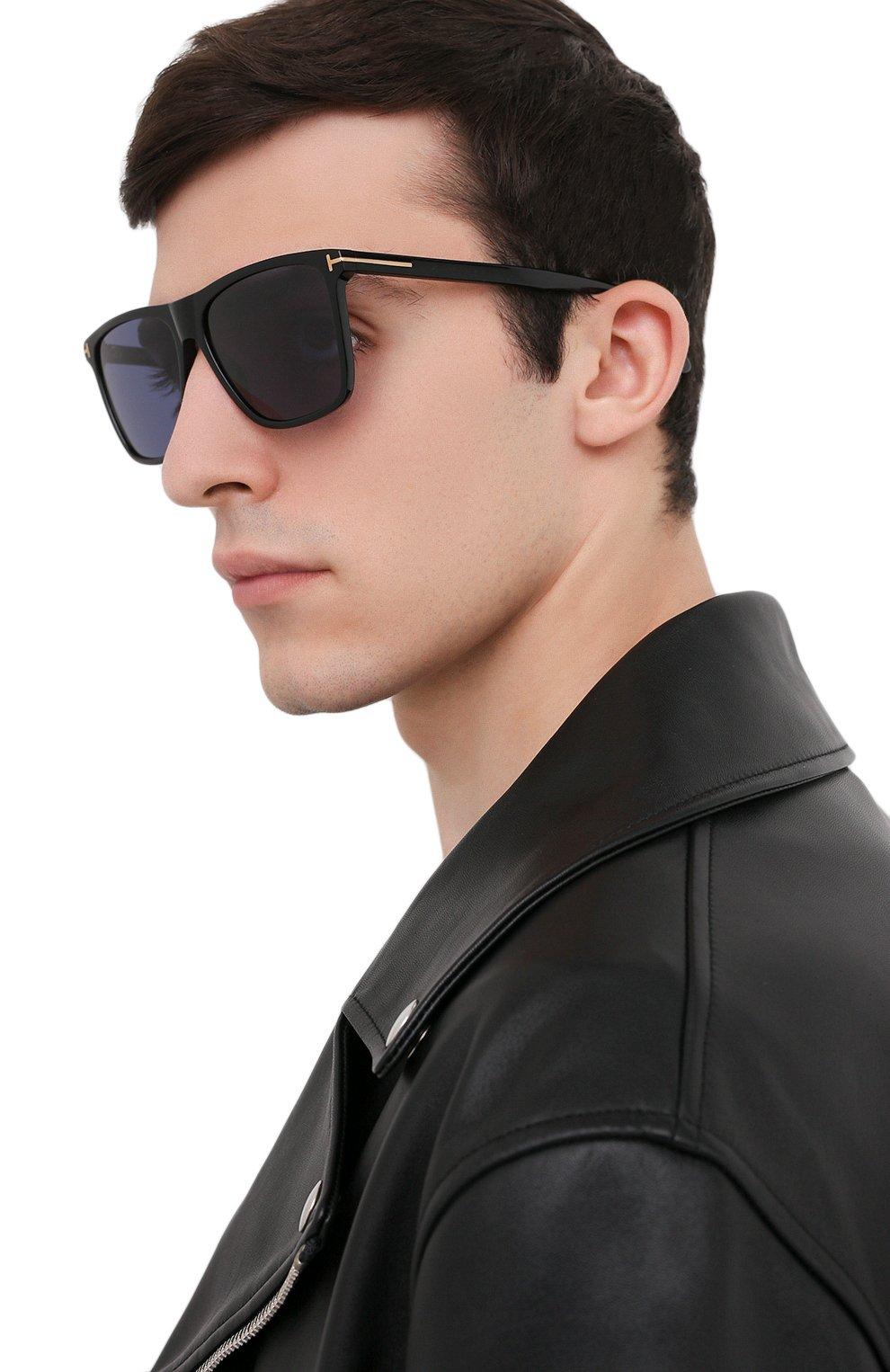 Мужские солнцезащитные очки TOM FORD черного цвета, арт. TF832 01V | Фото 2