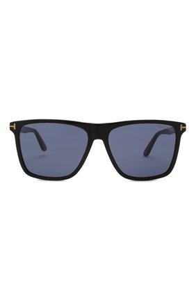 Мужские солнцезащитные очки TOM FORD черного цвета, арт. TF832 01V | Фото 3