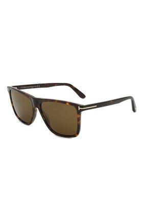 Мужские солнцезащитные очки TOM FORD коричневого цвета, арт. TF832 52J | Фото 1