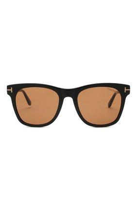Мужские солнцезащитные очки TOM FORD коричневого цвета, арт. TF833 01E   Фото 3