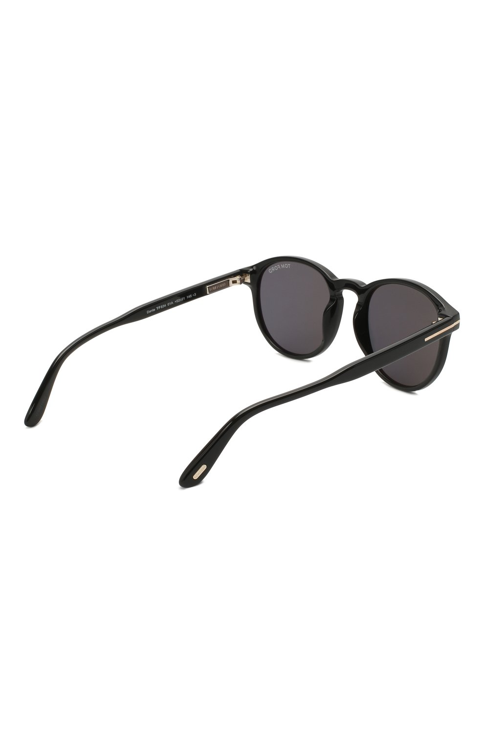 Мужские солнцезащитные очки TOM FORD черного цвета, арт. TF834 01A | Фото 4
