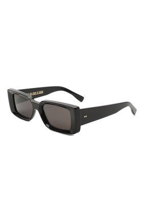 Женские солнцезащитные очки CUTLERANDGROSS черного цвета, арт. 136801 | Фото 1