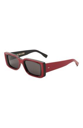 Женские солнцезащитные очки CUTLERANDGROSS красного цвета, арт. 136803 | Фото 1