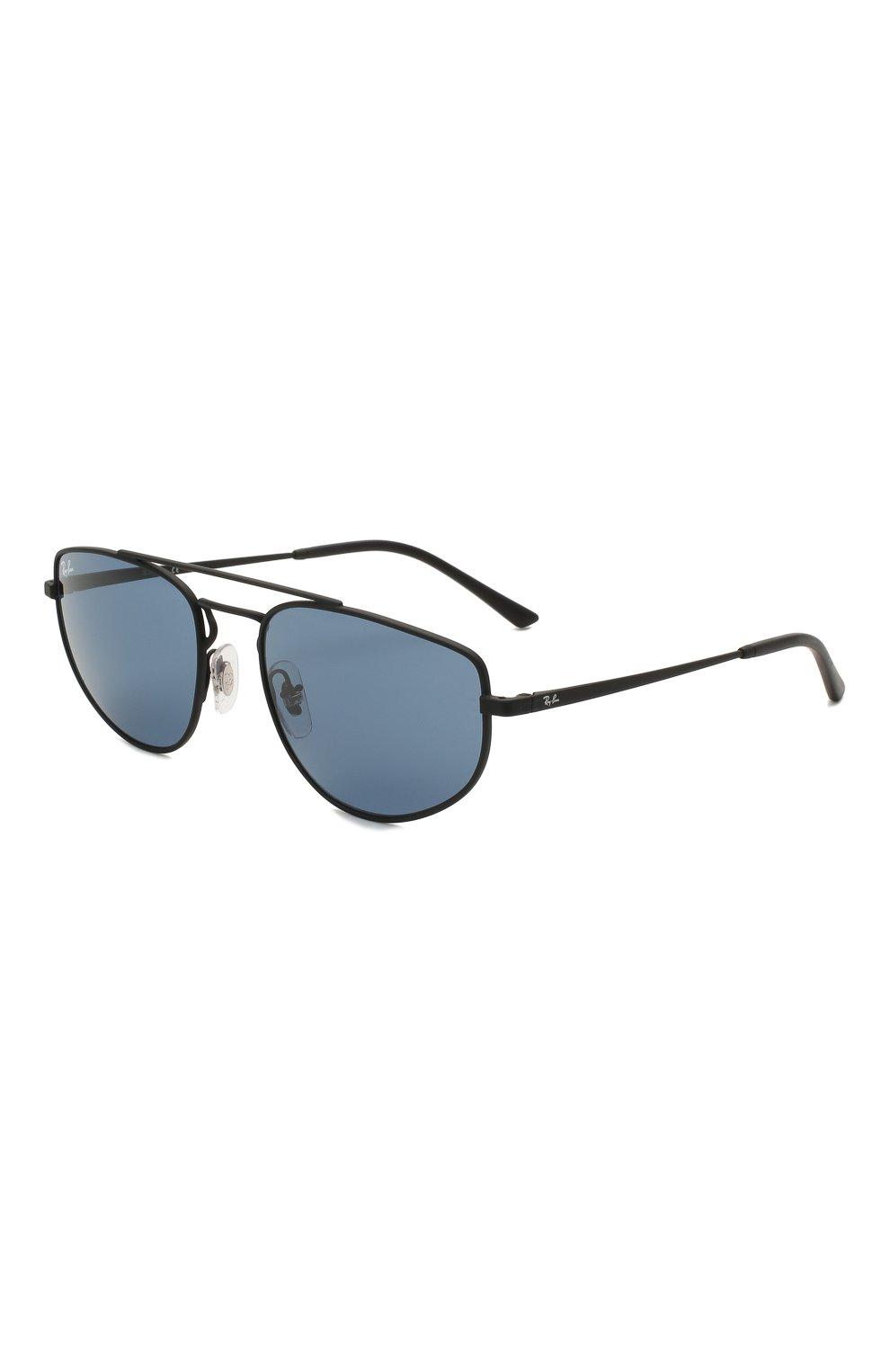 Женские солнцезащитные очки RAY-BAN черного цвета, арт. 3668-901480   Фото 1