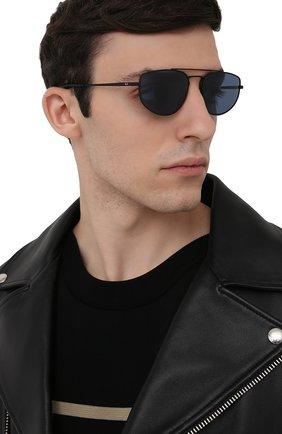 Женские солнцезащитные очки RAY-BAN черного цвета, арт. 3668-901480   Фото 3