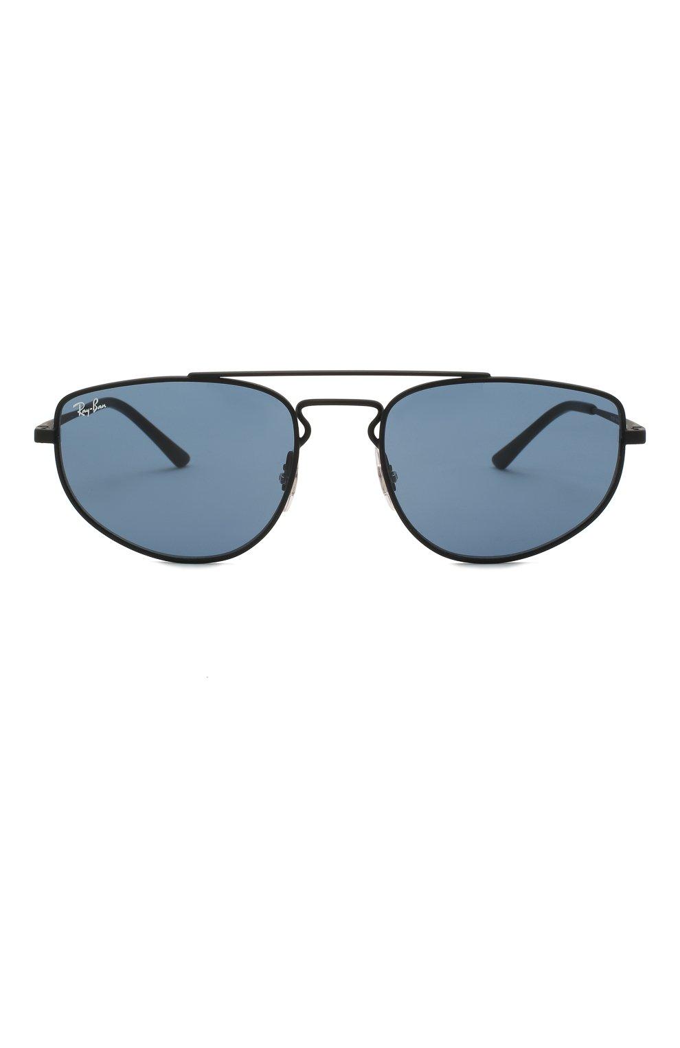 Женские солнцезащитные очки RAY-BAN черного цвета, арт. 3668-901480   Фото 4