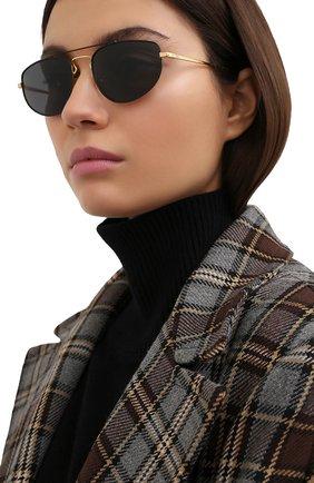 Женские солнцезащитные очки RAY-BAN черного цвета, арт. 3668-905487 | Фото 2