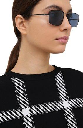 Женские солнцезащитные очки RAY-BAN черного цвета, арт. 3669-901480 | Фото 2