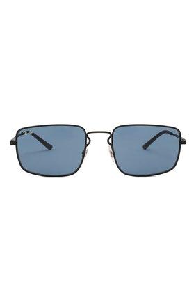 Женские солнцезащитные очки RAY-BAN черного цвета, арт. 3669-901480 | Фото 4
