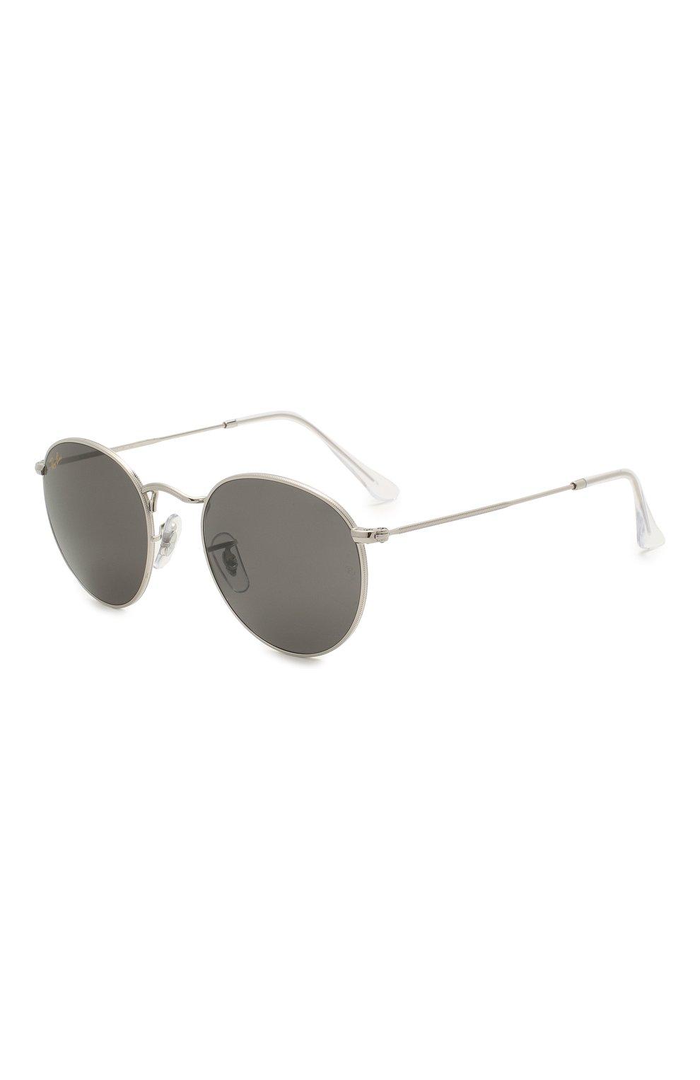 Женские солнцезащитные очки RAY-BAN серого цвета, арт. 3447-9198B1   Фото 1