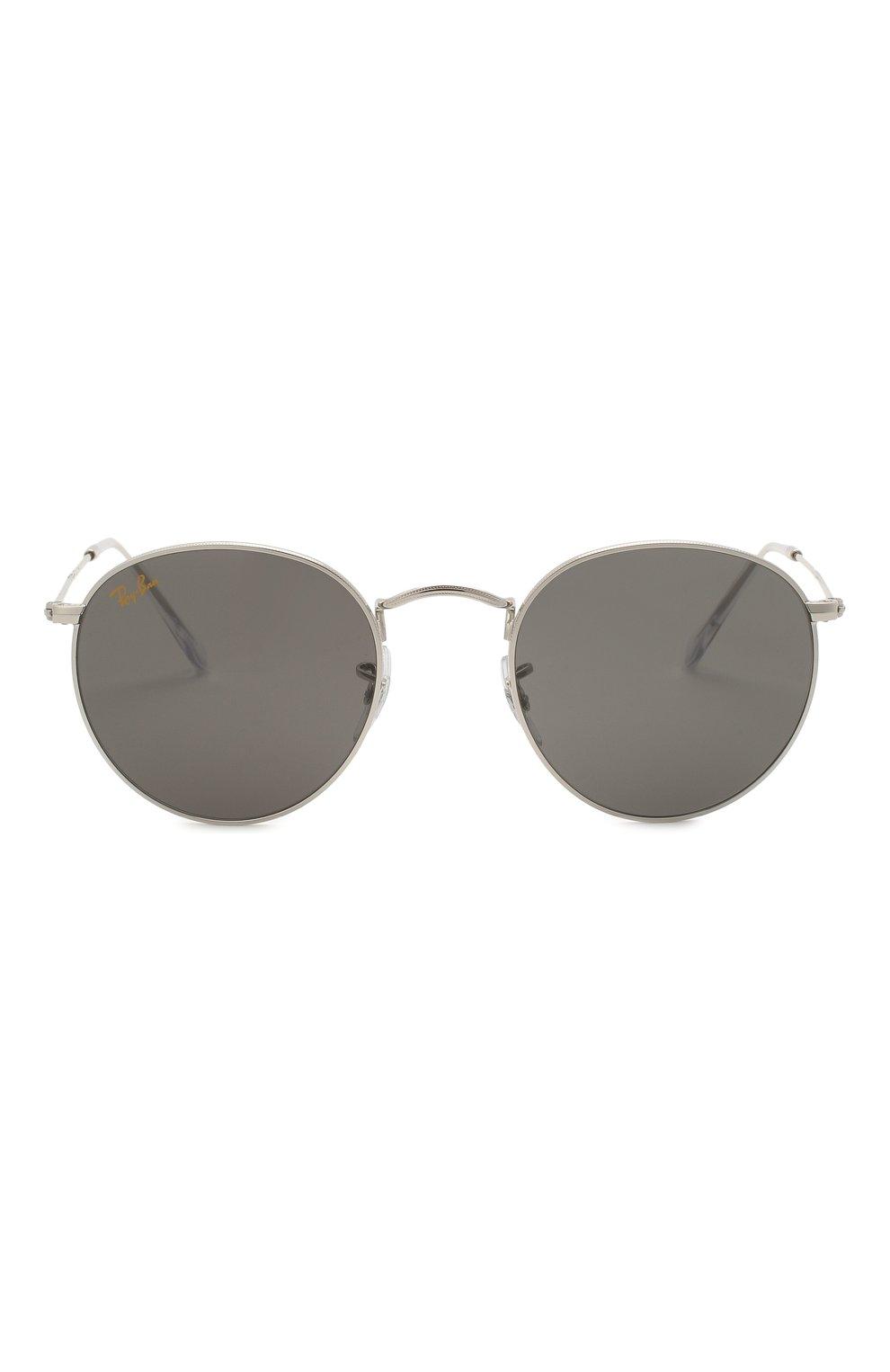 Женские солнцезащитные очки RAY-BAN серого цвета, арт. 3447-9198B1   Фото 4
