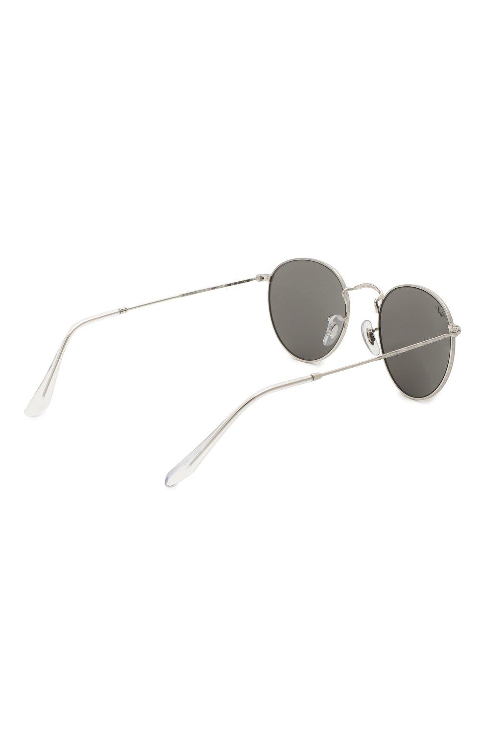 Женские солнцезащитные очки RAY-BAN серого цвета, арт. 3447-9198B1   Фото 5