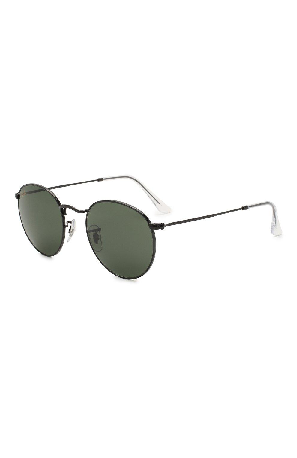 Женские солнцезащитные очки RAY-BAN черного цвета, арт. 3447-919931 | Фото 1