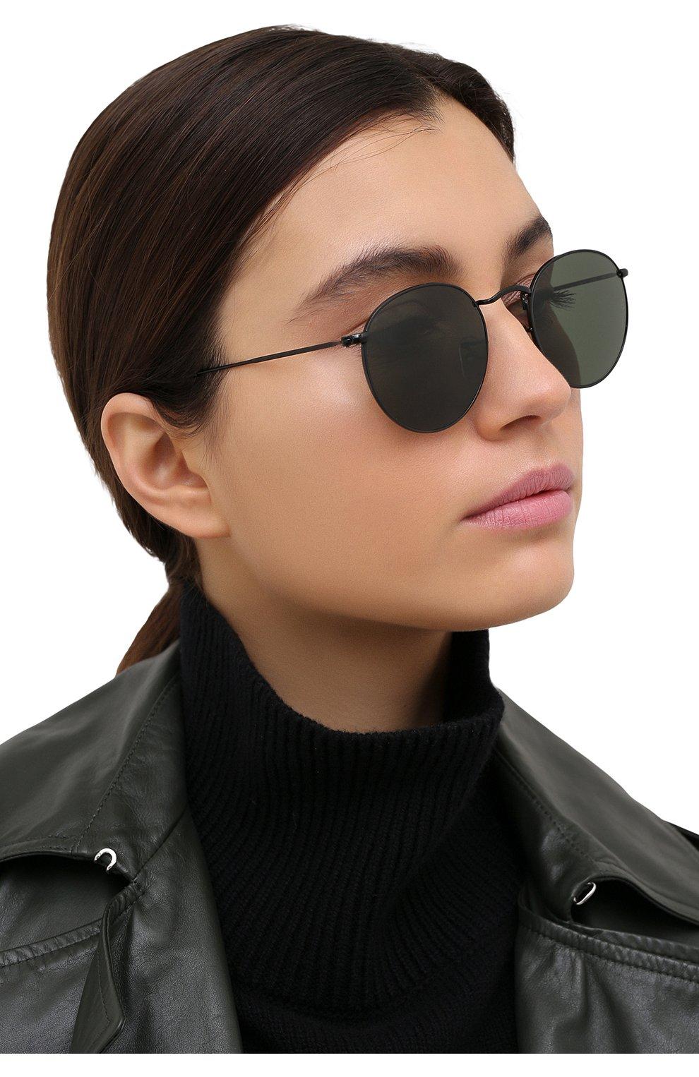 Женские солнцезащитные очки RAY-BAN черного цвета, арт. 3447-919931 | Фото 2