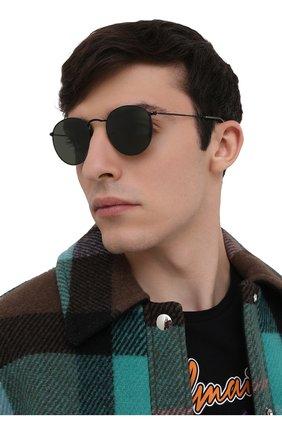 Женские солнцезащитные очки RAY-BAN черного цвета, арт. 3447-919931 | Фото 3