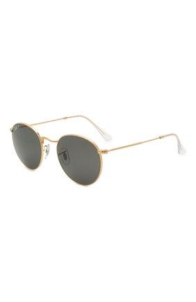 Женские солнцезащитные очки RAY-BAN золотого цвета, арт. 3447-919648 | Фото 1