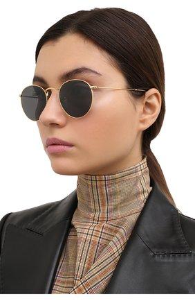 Женские солнцезащитные очки RAY-BAN золотого цвета, арт. 3447-919648 | Фото 2