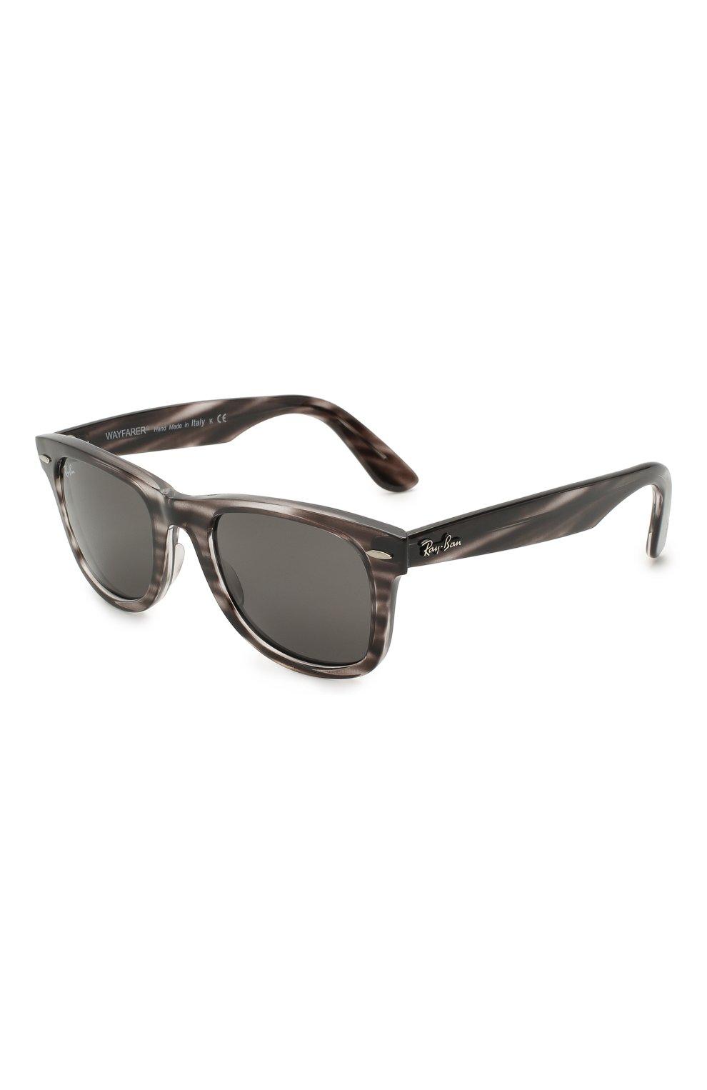 Женские солнцезащитные очки RAY-BAN темно-серого цвета, арт. 4340-6430B1 | Фото 1