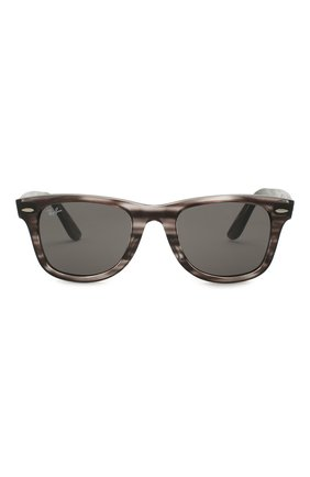 Женские солнцезащитные очки RAY-BAN темно-серого цвета, арт. 4340-6430B1 | Фото 4