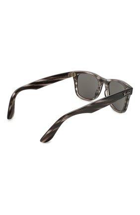 Женские солнцезащитные очки RAY-BAN темно-серого цвета, арт. 4340-6430B1 | Фото 5
