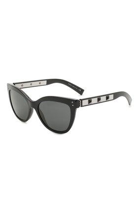 Женские солнцезащитные очки VALENTINO черного цвета, арт. 4049-500187   Фото 1