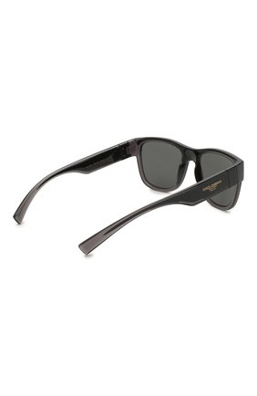 Мужские солнцезащитные очки DOLCE & GABBANA черного цвета, арт. 6132-325787 | Фото 4