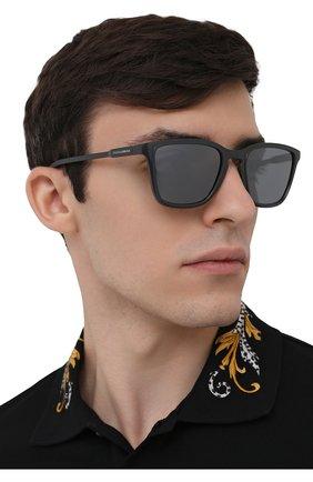 Мужские солнцезащитные очки DOLCE & GABBANA темно-серого цвета, арт. 6145-32936G | Фото 2