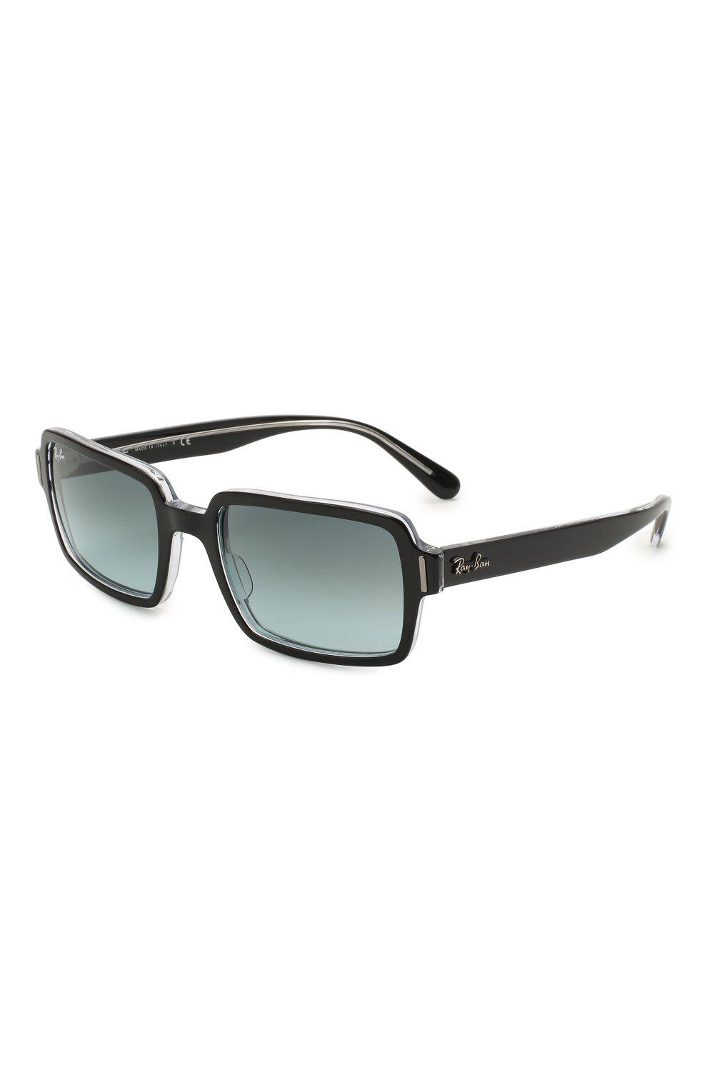 Женские солнцезащитные очки RAY-BAN черного цвета, арт. 2189-12943M | Фото 1