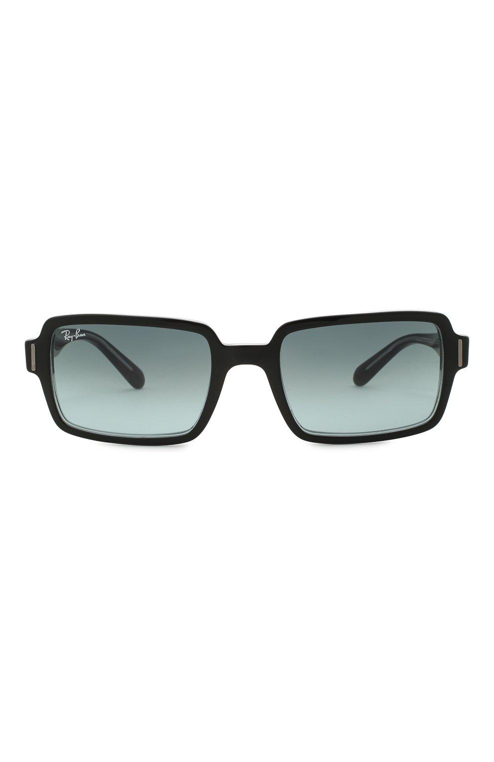 Женские солнцезащитные очки RAY-BAN черного цвета, арт. 2189-12943M | Фото 4