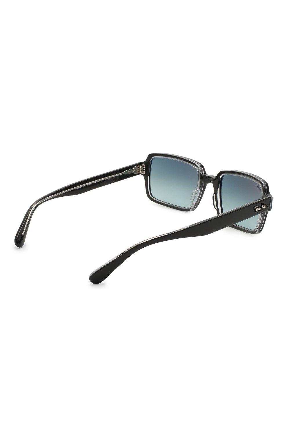Женские солнцезащитные очки RAY-BAN черного цвета, арт. 2189-12943M | Фото 5