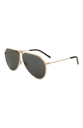 Мужские солнцезащитные очки DOLCE & GABBANA золотого цвета, арт. 2248-02/87 | Фото 1
