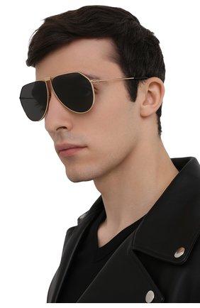Мужские солнцезащитные очки DOLCE & GABBANA золотого цвета, арт. 2248-02/87 | Фото 2