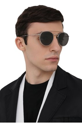 Женские солнцезащитные очки RAY-BAN серого цвета, арт. 3647N-9211B1 | Фото 3